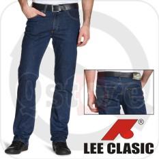 Celana Jeans Pria Lee Clasic Original Reguler Fit 33-38 - 59E3ce