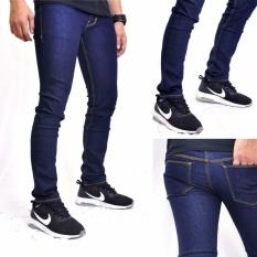 Toko Celana Jeans Pria Model Skiny Biru Dongker Terdekat
