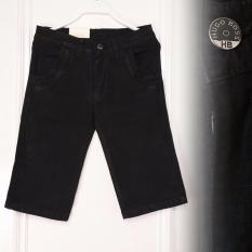 Review Zos Celana Jeans Pria Pendek Bagus Murah Hitam