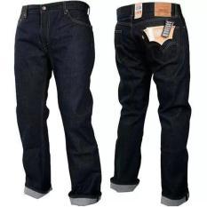 celana jeans pria regular higtquality blue black