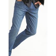 Celana Jeans Pria Reguler Basic WRANGLER Biru