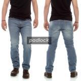 Spesifikasi Celana Jeans Pria Reguler Jeans Standar Jeans Straight Jeans Sobek Biru Muda Biru Tua Blue Jeans Merk Rstr
