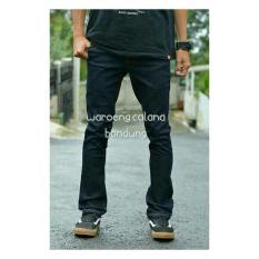 Celana Jeans Pria Type Cutbray Bahan Stretch Hitam-Blueblack-Dongker-Bioblitz Branded