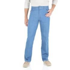 Spesifikasi Celana Jeans Pria Ukuran Besar Denim Panjang Big Size Jumbo Jins Biru Muda Online