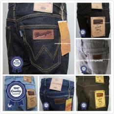 Beli Celana Jeans Pria Wrangler Celana Jeans Skinny Pakai Kartu Kredit