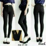 Jual Celana Jeans Punny Hw Black Antik