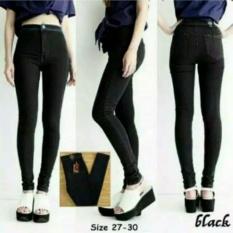 Model Celana Jeans Punny Hw Black Terbaru