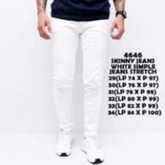 Celana Jeans Putih Pria