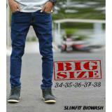 Celana Jeans Skinny Jumbo Bigsize Asli