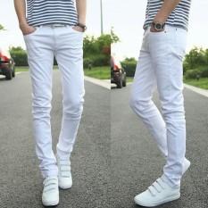 Celana Jeans Skinny Pria Putih