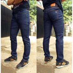 Perbandingan Harga Celana Jeans Skinny Slimfit Pensil Pria Navy Di Jawa Barat