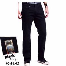Toko Celana Jeans Standar Reguler Pria Super Big Sumper Jumbo Hitam Terlengkap Jawa Barat