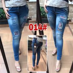 Harga Celana Jeans Stiker Wanita Jessiecollectionn Yang Murah Dan Bagus