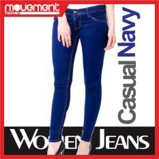 Perbandingan Harga Celana Jeans Wanita Biru Navy Locals Di Indonesia