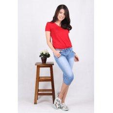 Diskon Besarcelana Jeans Wanita Cropped 7 8 7703