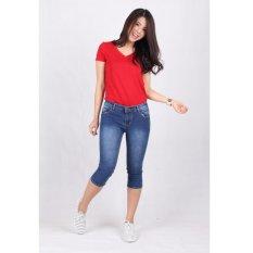 Spesifikasi Celana Jeans Wanita Cropped 7 8 7704 Dan Harganya
