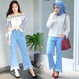 Beli Celana Jeans Wanita Fashionable Boy Friend Cutbray Bryant Shop Murah