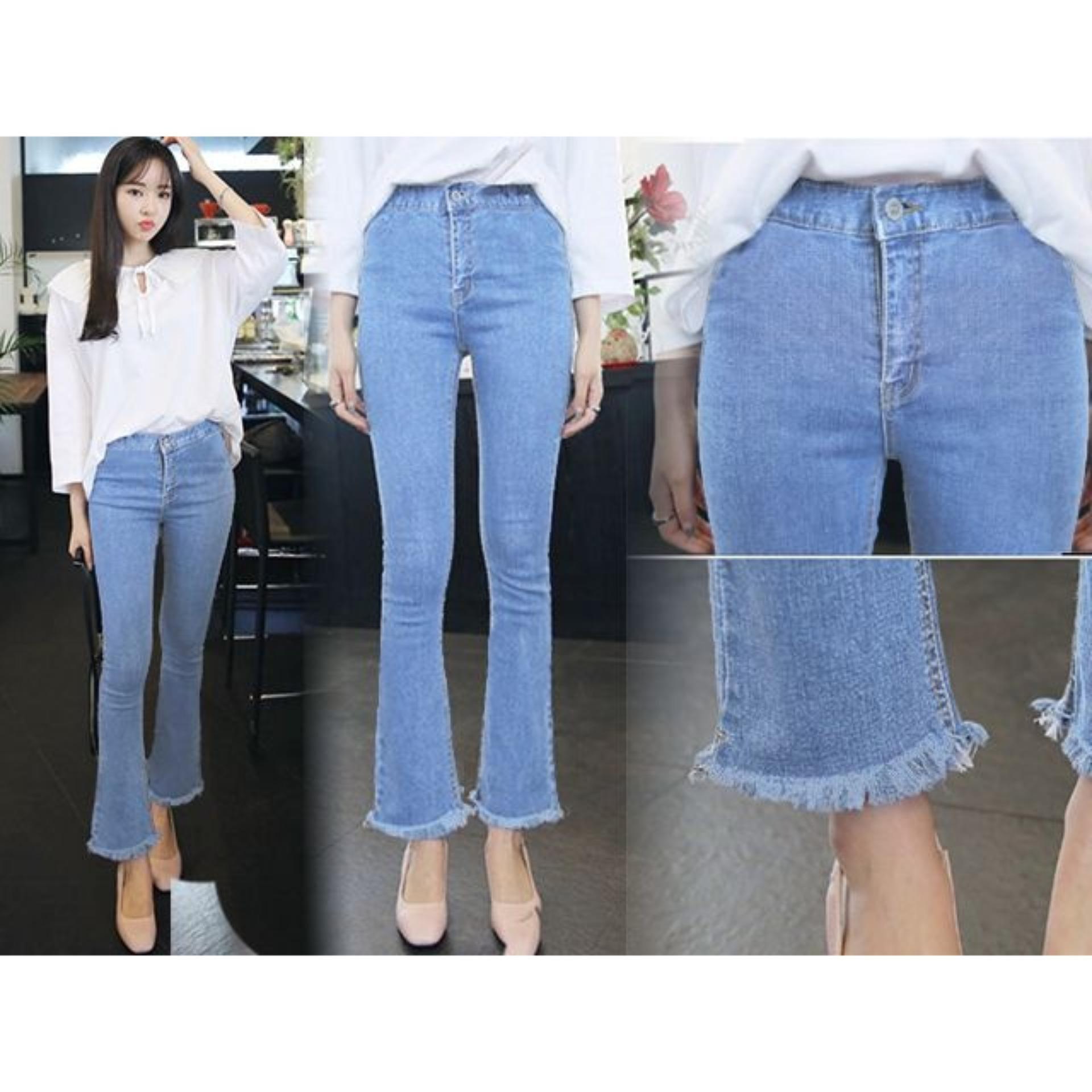 Good Quality Celana Jeans wanita fashionable - HW CUTBRAY