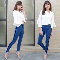Jual Celana Jeans Wanita Fashionable Hw Punny List Murah Dki Jakarta