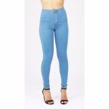 Jual Celana Jeans Wanita Hw Premium Harga Murah Light Blue No Brand Branded