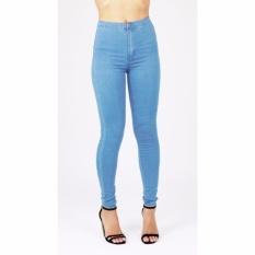 Celana Jeans Wanita Hw Premium Harga Murah Light Blue Promo Beli 1 Gratis 1