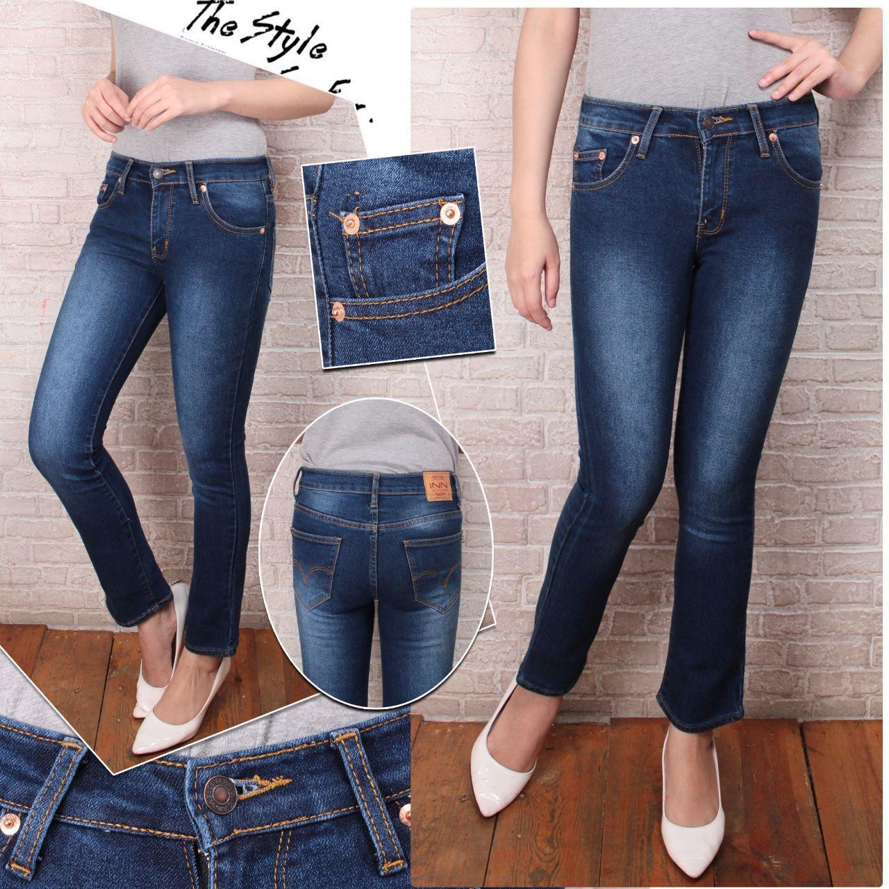 celana jeans wanita standar/reguler murah celana jeans wanita standar/reguler murah. Nusantara Jeans - Celana Jeans Wanita Skinny Ripped Ristleting Erigo ...