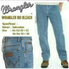 Celana Jeans Wrangler Biru Blitz