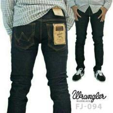 Celana Jeans wrangler pria cowok murah panjang