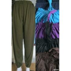 Celana joger cumi, celana aladin panjang wanita harian santai murah, pusat grosir bawahan kaos