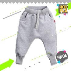 Celana Joger Harem Panjang Polos Anak Laki Cowo Cewe Hoofla HP06 XL