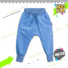 Celana Joger Harem Panjang Polos Anak Laki Cowo Cewe Hoofla HP08 XS/S