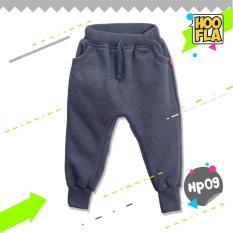 Celana Joger Harem Panjang Polos Anak Laki Cowo Cewe Hoofla HP09 XS/S