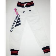 Spek Celana Joger Sport Anak Warna Putih Celana