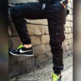 Harga Celana Jogger Cargo Panjang Pria Cargo Panst Black Online