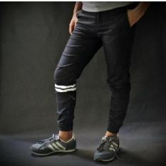 Beli Celana Jogger Stripe Jogger Hitam Stripe Celana Jogger Naruto Pakai Kartu Kredit