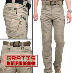 Celana Kargo Pdl Tactical Polisi Ganteng / Helikon - Xlaho5