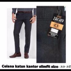 Beli Celana Kerja Celana Formal Celana Katun Model Slimfit Kredit Jawa Barat