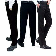 Ulasan Celana Kerja Formal Kantor Slimfit Celana Bahan Kerja Kantoran Hitam