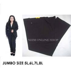 Celana Kerja Jumbo, Celana Big Size, Celana Bahan Wanita