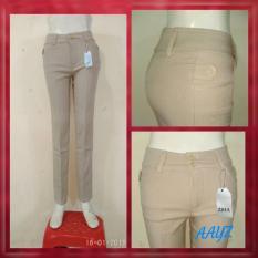 Harga Celana Kerja Wanita Cream Celana Kantoran Celana Formal Cewek Celana Bahan Perempuan New