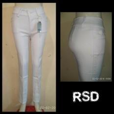 Celana kerja wanita Putih / Celana kantoran wanita / Celana Formal Cewek / Celana bahan perempuan