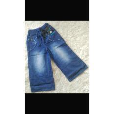 Celana Kulot Anak Tanggung Bahan Jeans 8 12 Tahun Murah