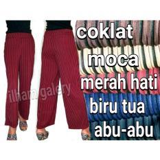 Beli Celana Kulot Babat Salur Celana Wanita Online Jawa Barat