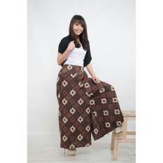 Celana kulot batik panjang wanita jumbo long pant Ancina