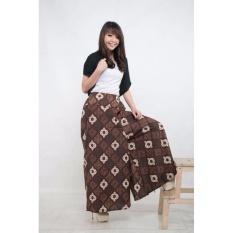 Harga Celana Kulot Batik Panjang Wanita Jumbo Long Pant Auliana Terbaru
