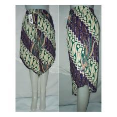 celana kulot batik pendek