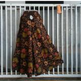 Spek Celana Kulot Batik Sogan Model Cutbrey Multi