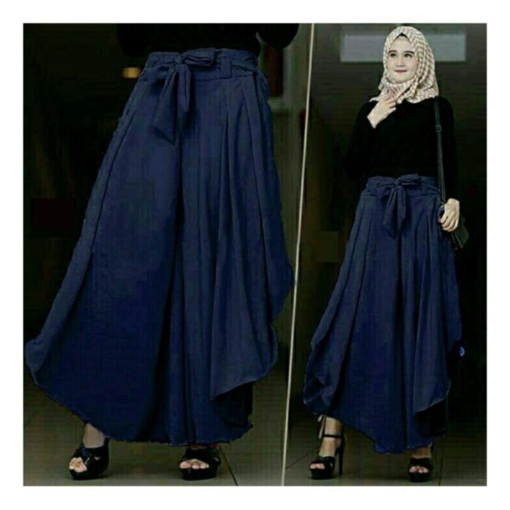 Celana Kulot Bawahan Wanita Muslimah Fashionable Ks Agoest PantS