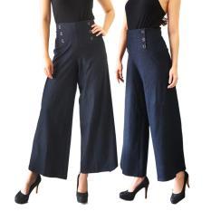 Spesifikasi Celana Kulot Denim Posey Celana Panjang Long Pants Bawahan Murah