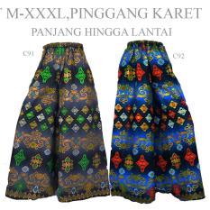 Spesifikasi Celana Kulot Klok Cutbray Panjang Batik C92 Gamis Terbaru